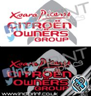 Citroen Owners Group Decals/Stickers